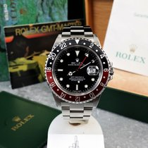 Ρολεξ (Rolex) GMT-Master 2 16710 / 2003 / Coke / Box & Papers
