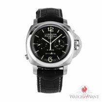 Panerai Luminor 1950 Chrono Monopulsante 8 Days GMT Acciaio