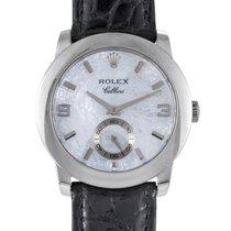 Rolex Cellini Cellinium Mens Automatic Platinum Watch 5240.6 d
