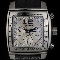 Chopard S/S MOP Dial Two O Ten Sport Chronograph B&P...