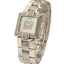 Concord La Scala Square Diamond Bezel