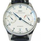IWC Portuguese Automatic Steel Blue Men's Watch IW500107...