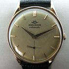 Movado gold  small second automatic