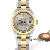 Rolex Datejust Ladies Diamond Dial 2Tone Gold/SS 26MM Watch...