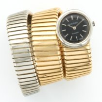 Bulgari 1960's Yellow and White Gold Tugobas Snake Watch