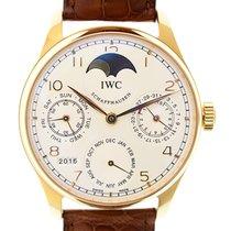 IWC Portuguese 18k Rose Gold White Manual Wind Iw502213