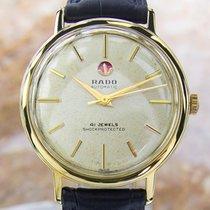 Rado 41 Jewel Gold Plated Automatic Watch 1960's Scx210