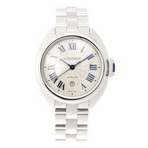 Cartier Clé De Cartier Stainless Steel White Automatic WSCL0005