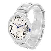 Cartier Ballon Bleu Mens Stainless Steel Automatic Watch W69012z4