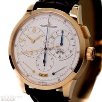 Jaeger-LeCoultre Duometre Chronograph Ref-600-2-28-S 18k Rose...