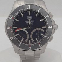TAG Heuer Mens Tag Heuer Stainless Steel Aqua Racer Calibre S...