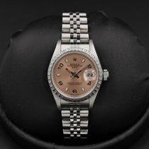 Rolex Date - 26mm - Ladies - 79240 - Salmon Dial - F Serial -...