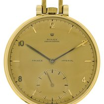 Rolex 18k yellow gold Prince Imperial Chronometre Pocketwatch....
