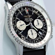 Breitling Navitimer A23322 Chronograph 42mm Black Dial Watch...