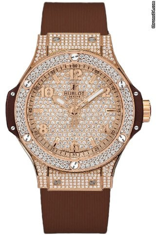 Hublot Big Bang Quartz Gold Cappuccino 38mm