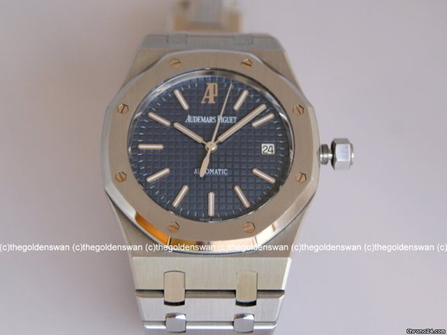 Audemars Piguet Royal Oak Large Size Blue Dial