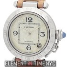 Cartier Pasha Collection Pasha C Stainless Steel 35mm MOP Dial...