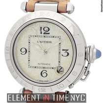 Cartier Pasha Collection Pasha C Stainless Steel 35mm MOP Dial
