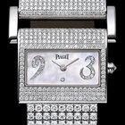 Piaget Miss Protocole Full Diamond Bracelet Watch G0A29021