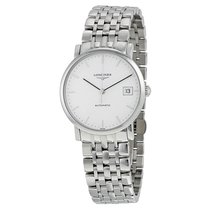 Longines Elegant Automatic White Dial Stainless Steel Automati...