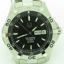 TAG Heuer Aquaracer Waf2010 Day & Date Automatic Steel...