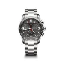 Victorinox Swiss Army Chrono Classic, dark grey dial, steel,...