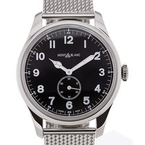 Montblanc 1858 Collection 44 Automatic Black Dial