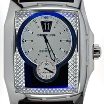 Breitling Mans Automatic Jump Hour Wristwatch Bentley Flying B...