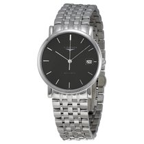 Longines Elegant Collection Auto Stainless Steel Ladies Watch...