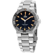 Oris Aquis Grey Dial Stainless Steel Men's Watch 733765341...