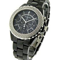 Chanel J12 Black Chronograph H1009