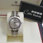 Tudor Cally - 55010W-68050W Glamour Date White Ceramics