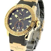 Ulysse Nardin Maxi Marine Diver Chronometer with BROWN DIAL
