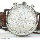 IWC Portofino Chronograph 42mm Silver Dial Day/Date 3910...