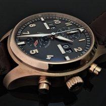 IWC Spitfire Perpetual Calendar Pilot Chrono 18K Rose Gold
