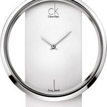 ck Calvin Klein Glam K9423101 Elegante Damenuhr Durchbrochenes...