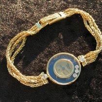 Chopard Happy Diamonds G392 / 203929 18k 750 Gold Damenuhr Und...