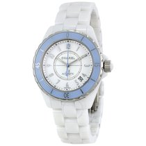 Chanel J12 Soft Blue Automatic Ladies Watch