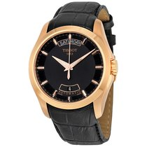 Tissot Couturier Automatic Black Dial Mens Watch T0354073605100