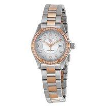 TAG Heuer Aquaracer Mother of Pearl Dial Ladies Watch WAP1452....