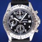 Eterna Airforce 39mm Automatic Chronograph Black Dial