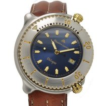Maurice Lacroix Diver Obliquo Blue Dial Watch 42mm – NOS