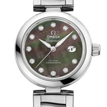 Omega 42530342057004 De Ville Ladymatic Pearl Diamonds Lady
