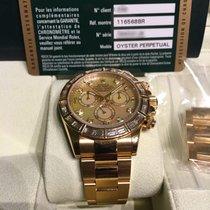 Rolex Daytona Baguette Bezel Yellow Gold 116568BR