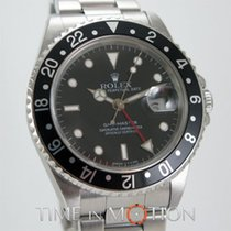 Rolex GMT MASTER 16700 Tritium Noire  Certif Rolex Boite Surboite