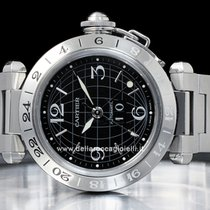 Cartier Pasha C Time Zone W31049M7