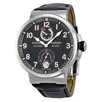 Ulysse Nardin Marine Chronometer Black Dial Automatic Men'...