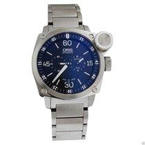 Oris BC4 Der Meisterflieger Automatic Black Dial Steel Watch...