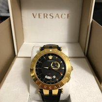 Versace Watch V RACE 46mm GMT ALRAM BLACK DIAL
