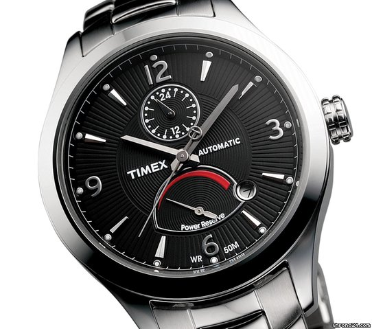 Timex Automatic Herrenuhr Gangreserveanzeige T2M979PG UVP 199 &amp;euro;